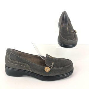 Array Gray Superior Leather Loafers Sz 8.5W